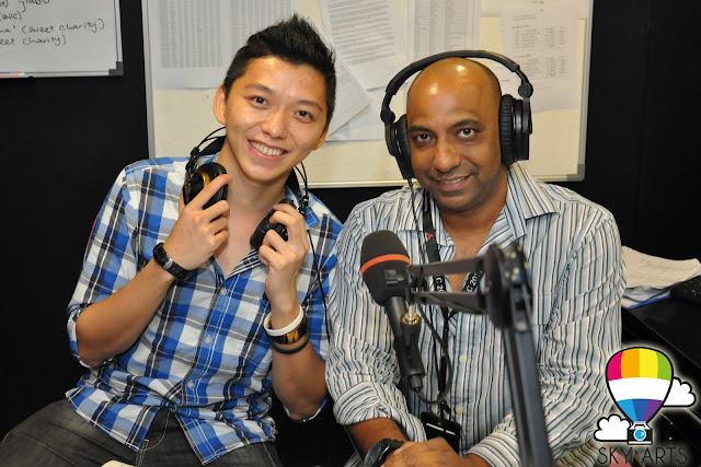 Bernama Radio Interview The Lounge TianChad Blogger Malaysia