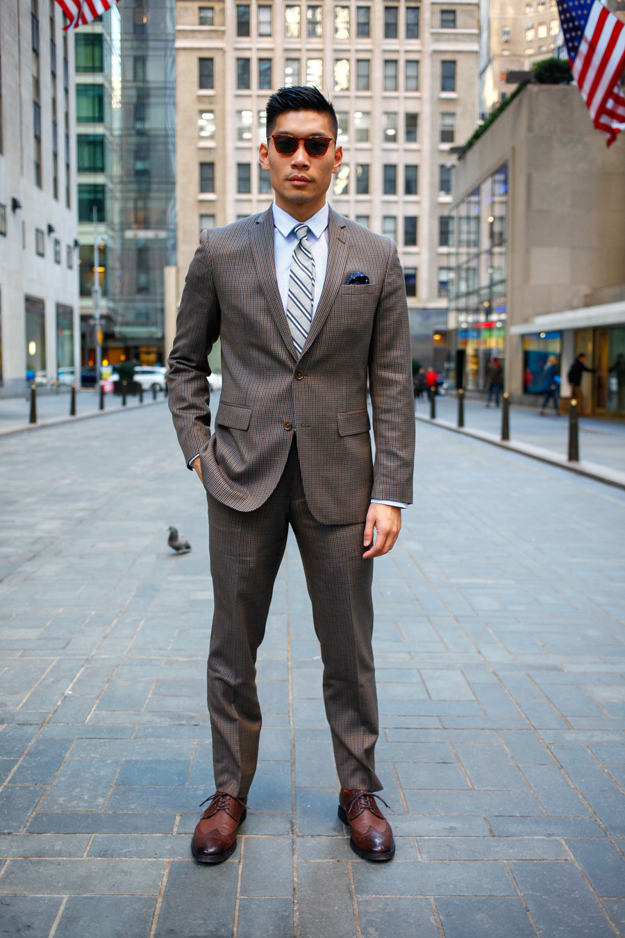 Levitate Style Bar Iii Suit Tie Menswear Olive Three Piece