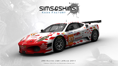 JMB Racing 24H LeMans 2011 : rFactor