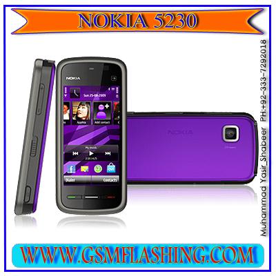 NOKIA 5230 RM-629 MCU PPM CNT LATAST Version 51.4.2 FLASH FILE