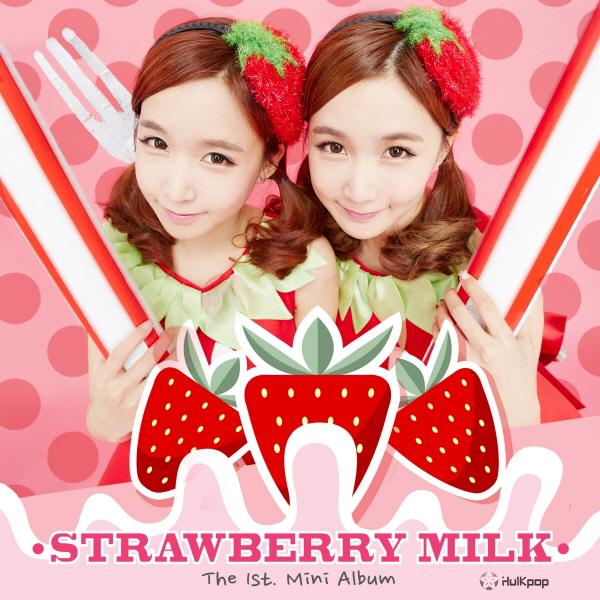 Crayon Pop – Strawberry Milk – The 1st. Mini Album