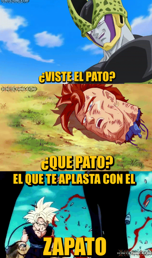 PATO EN DRAGON BALL