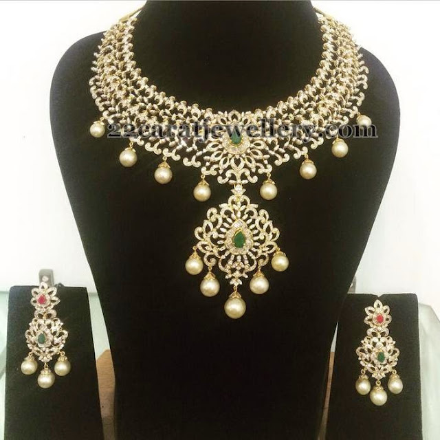 Bridal Diamond Set By Parnicaa