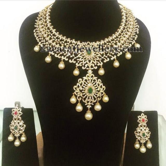 Bridal Diamond Set By Parnicaa