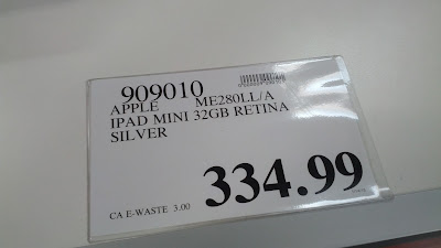 Get the Apple iPad Mini from Costco for a good price
