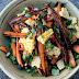 Caramelised Carrot, Corn and Coriander Salad recipe