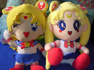 Sailor Moon merchandise - plush dolls