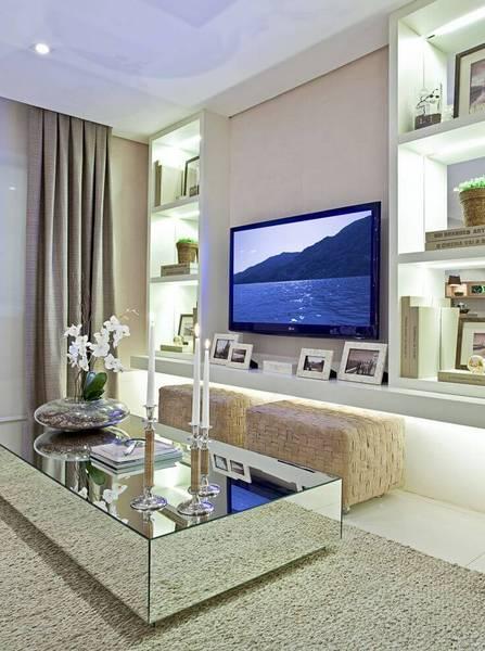 Home Tv Sala Pequena ~ Idéias para decorar sala pequena Comece visualizando bem o ambiente