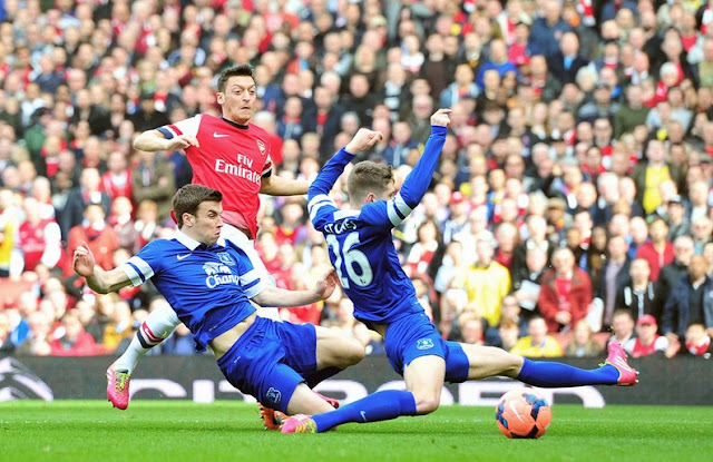Arsenal vs Everton Premier League 2015