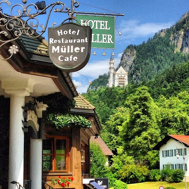 List of Best Hotels , Hostels and Pension  near Neuschwanstein Castle
