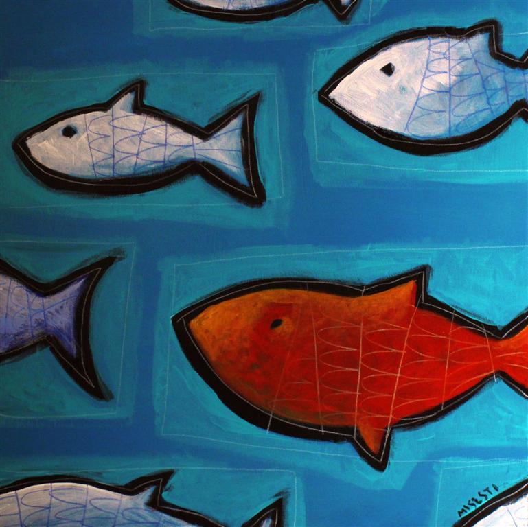 Iconoclasta la vasca dei pesci for Vasca per pesci