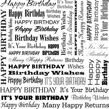 happy birthday image birthday words