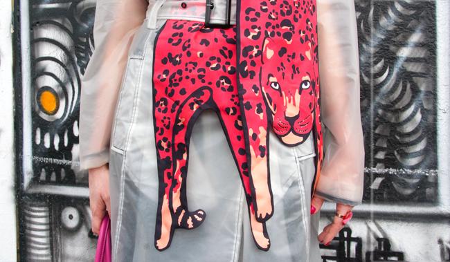 cléo ferin mercury, leopard scarf, made in london