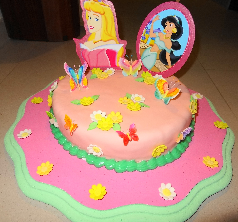 Tortas decoradas de princesas bebés - Imagui