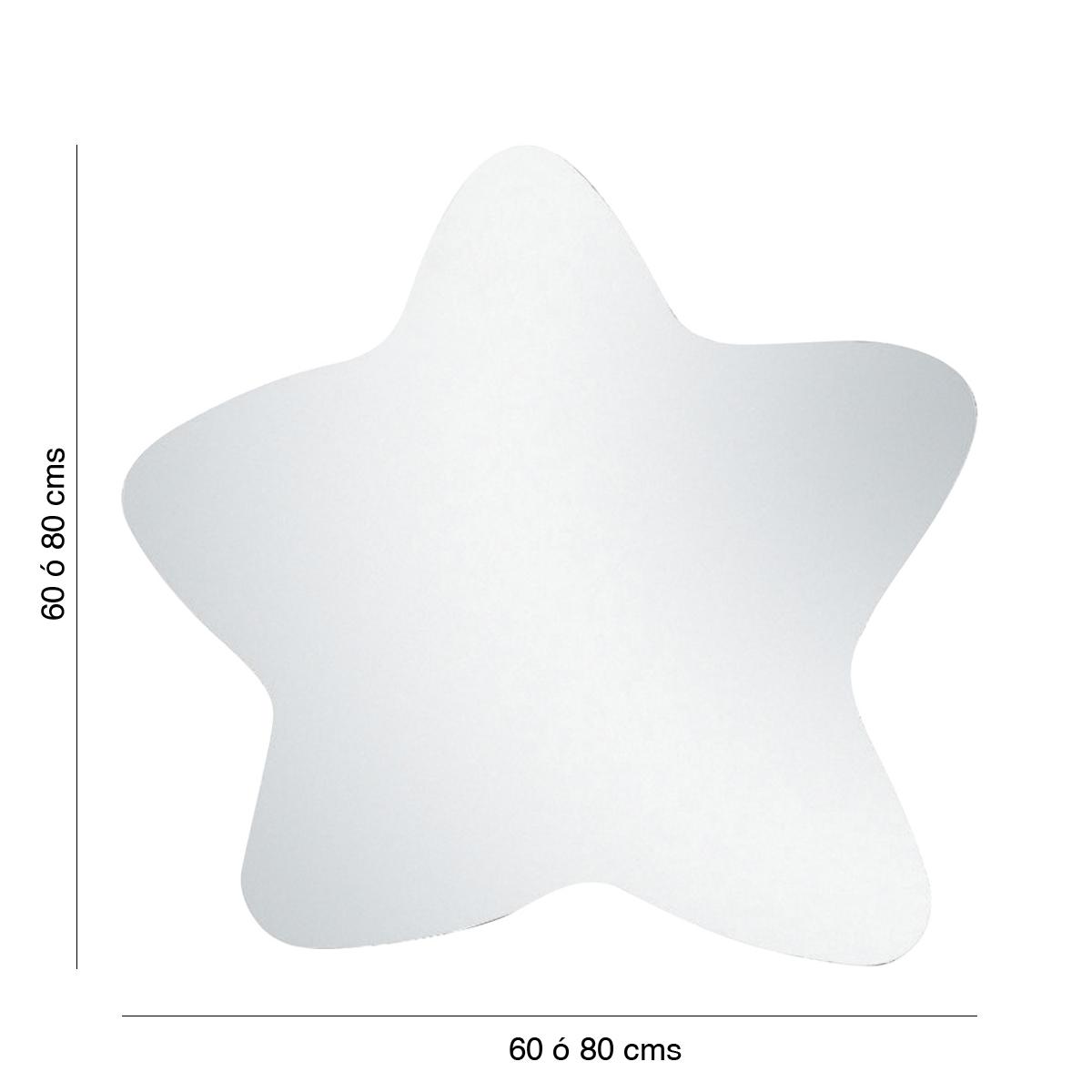 espejo baño estrella huevo frito