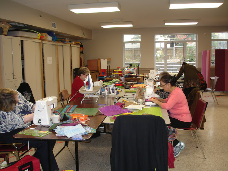 Priscilla Kibbee Fashion Show And Class For The Yorkshire Rose Quilt Guild Toronto Canada