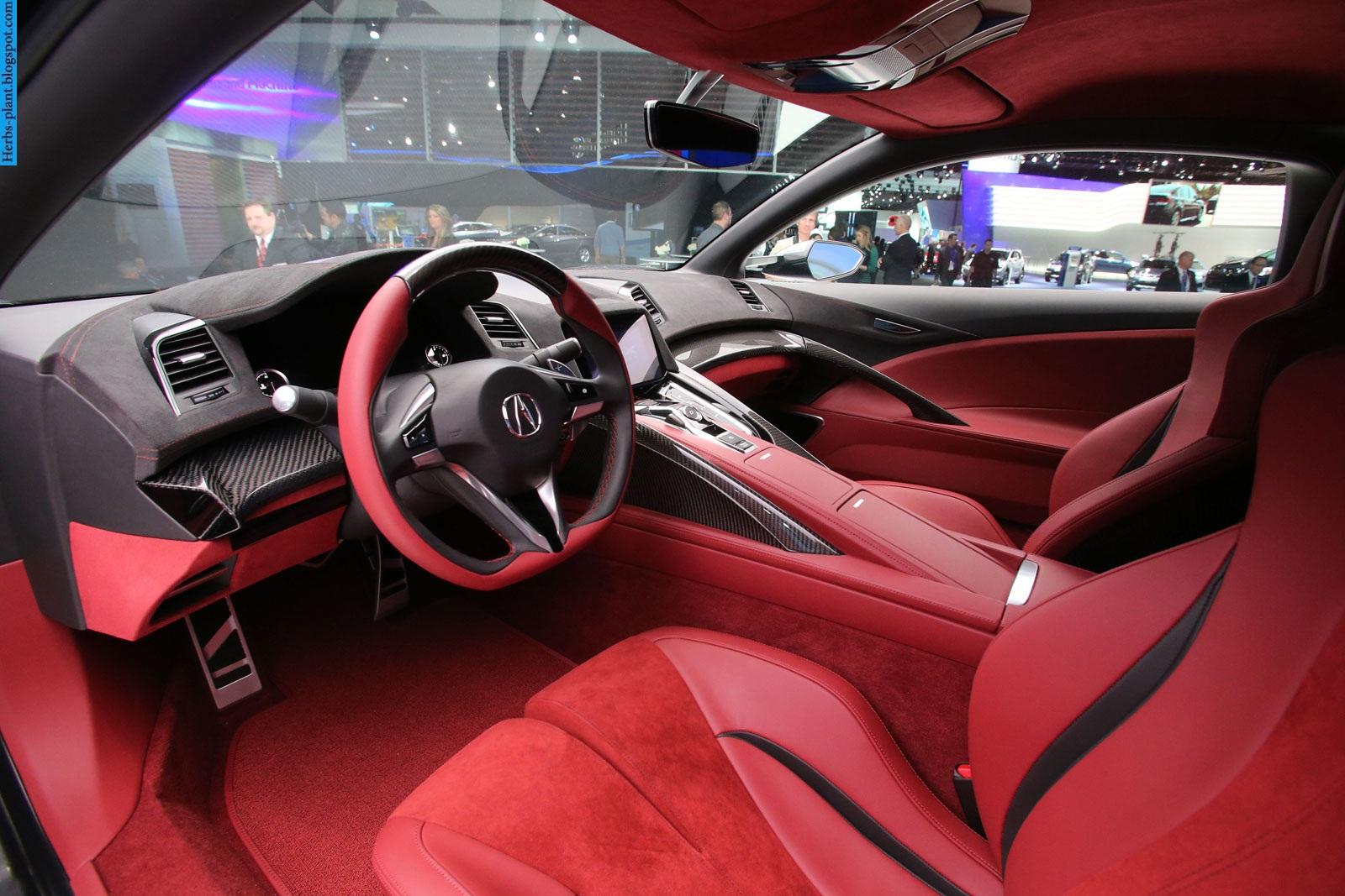 Acura nsx car 2013 interior - صور سيارة اكورا ان اس اكس 2013 من الداخل