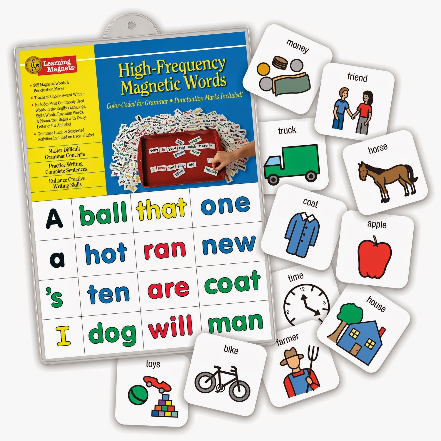 High frequency magnetic words