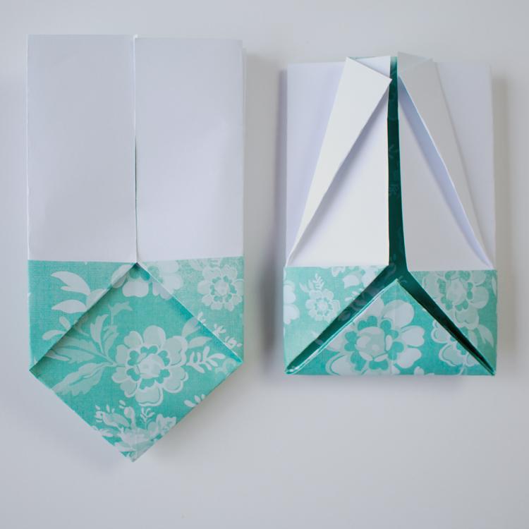 Origami Easter Gift Basket Tutorial Handmade Paper Flowers By