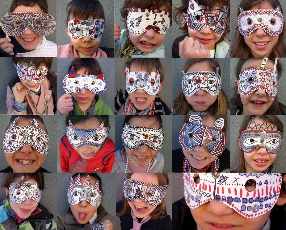Делаем смешные маски своими руками Маски Костюмы, реквизит, декорации