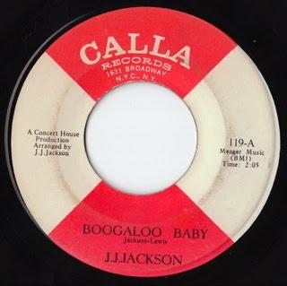 J J Jackson Boogaloo Baby