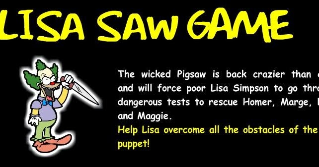 Solved Lisa Saw Game Walkthrough