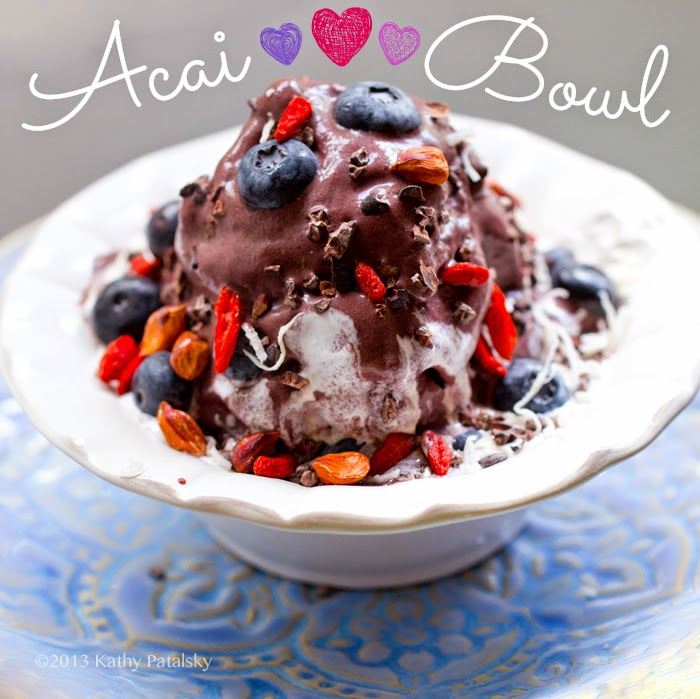Coconut Acai Berry Bowl