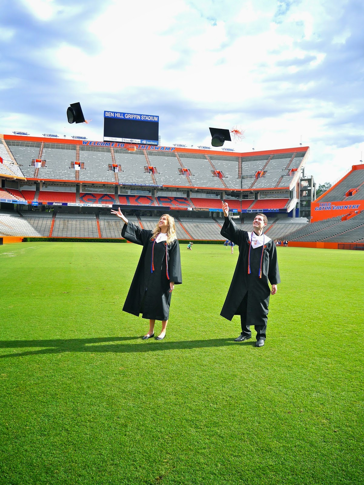 graduation, the swamp, university of florida