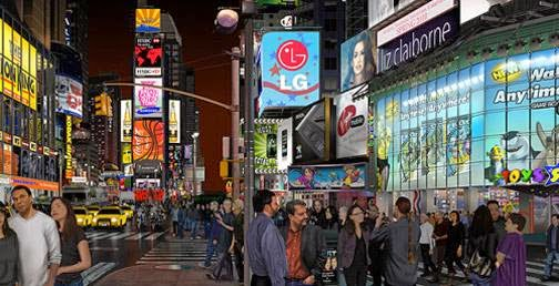 00-Times-Square-Bert-Monroy-Digital-Photo-Realistic Art-www-designstack-co
