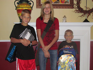 Dylan, Darci, and Dax Foster
