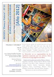 """Nº 11 - Año II - Revista Literaria """"Pluma y Tintero"""""""