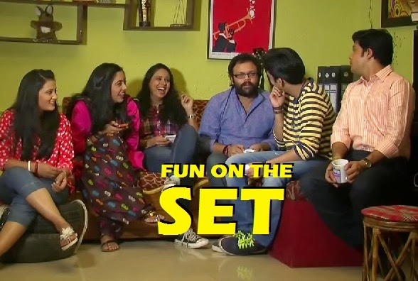 Fun on the sets of Dil Dosti Duniyadari visit the flat