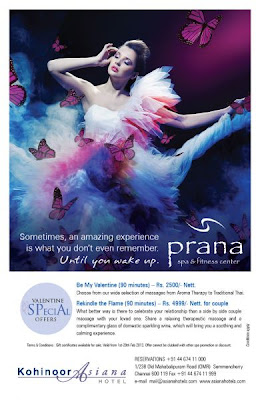 Valentines Day Special Package at Prana Spa