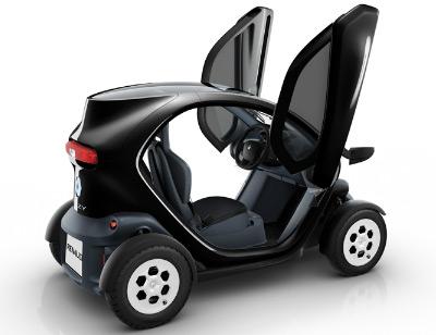 coche eléctrico Renault Twizy