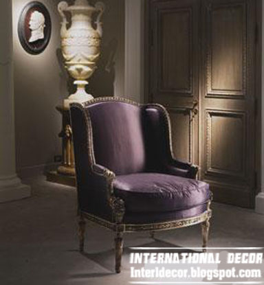 Purple Velvet Chair Luxury, UK Antique Chair Style From Old Fashioned UK