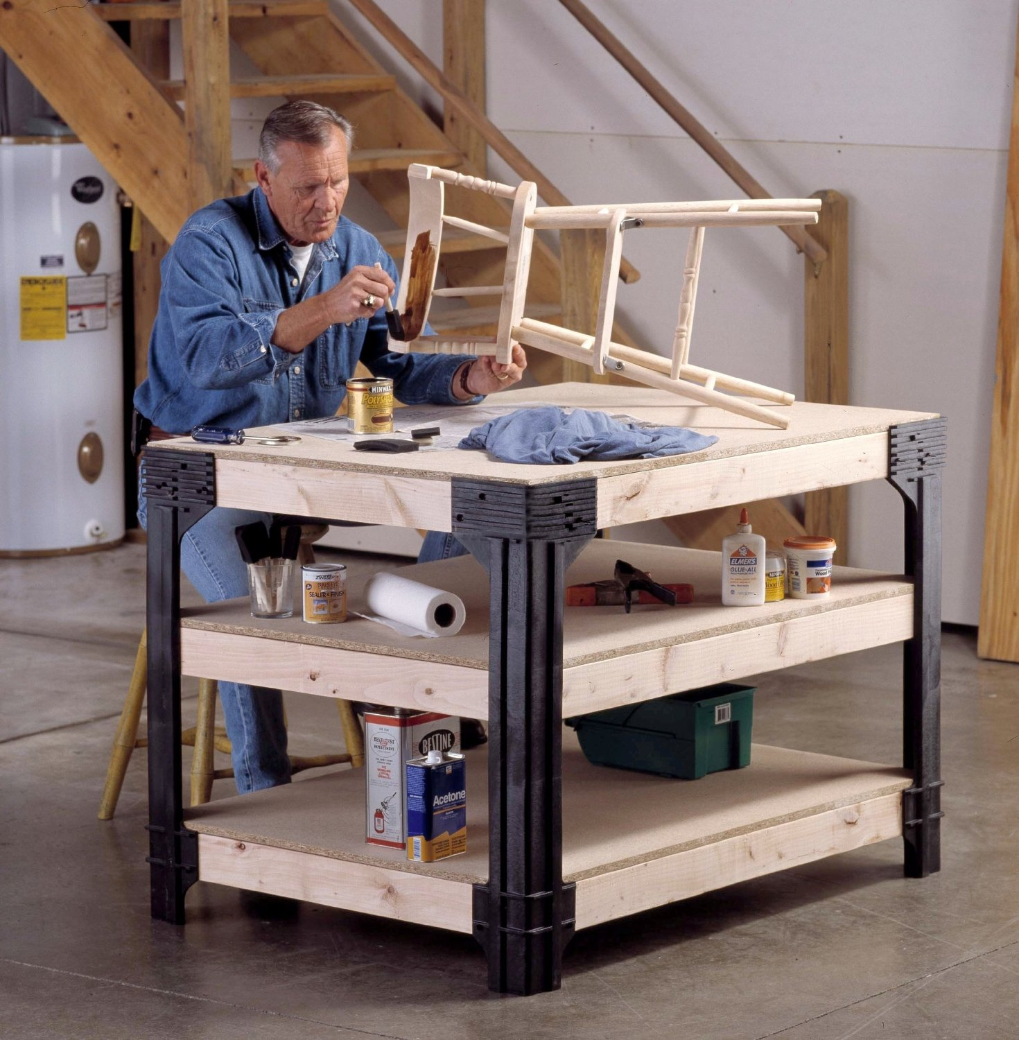 The Perfect Workbench for Your Crafts