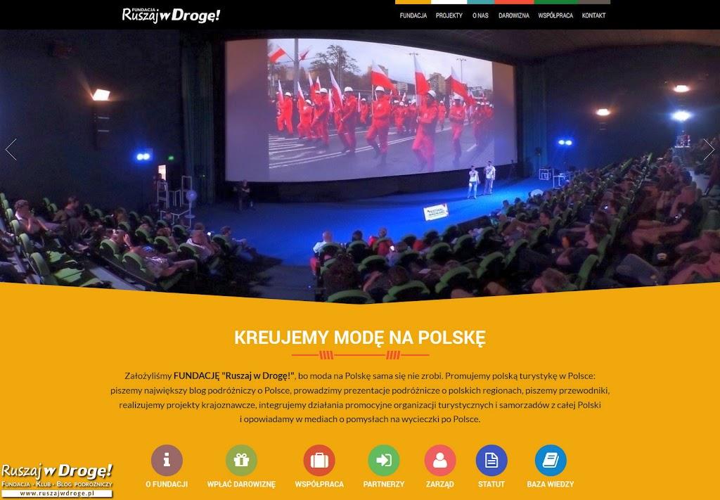 Strona Internetowa Fundacji Ruszaj w Drogę!