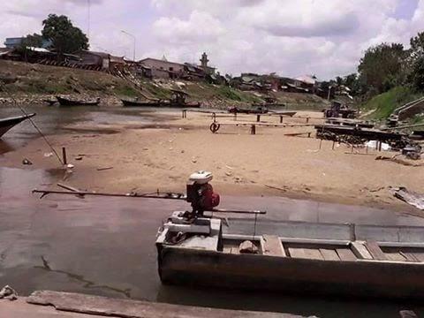 SUBHANALLAH Keadaan Sungai Golok Di Kelantan Thailand Yang Mengejutkan Selepas Bencana banjir 4 Bulan Lalu