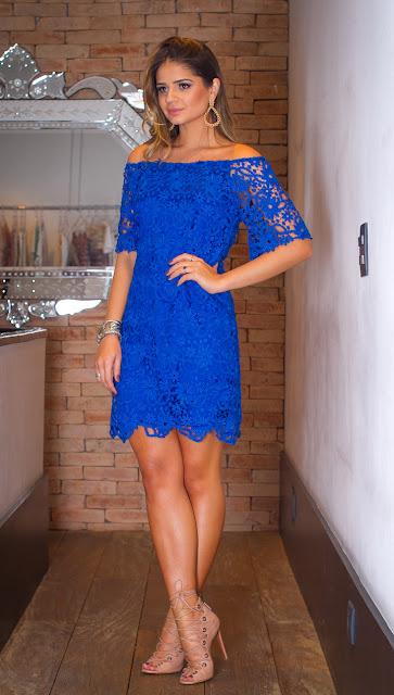 cor reveillon azul vestido