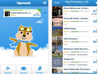 hipmunk lovely app can find hotels and plane tickets at lowest price