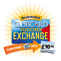 Tesco Summer Clubcard Voucher Exchange