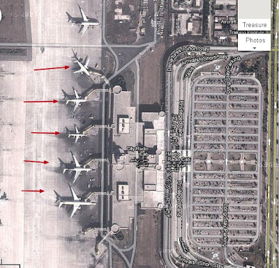 3rd satellite image of lahore airport