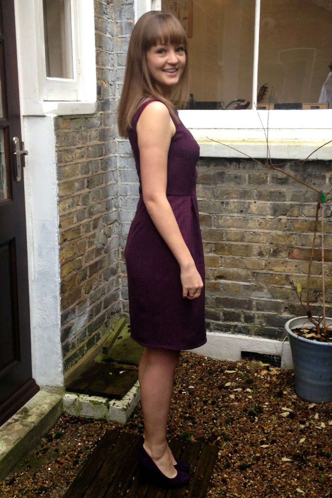 Diary of a Chain Stitcher: Purple Marbella Dress from Itch to Stitch
