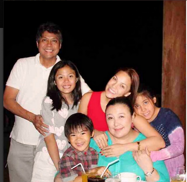 Kc Conception on rumored that she's the real mother of Miel and Miguel Pangilinan