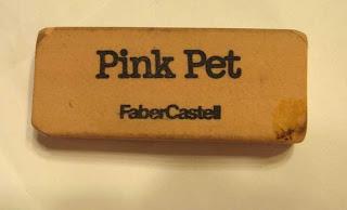 Pink Pet eraser