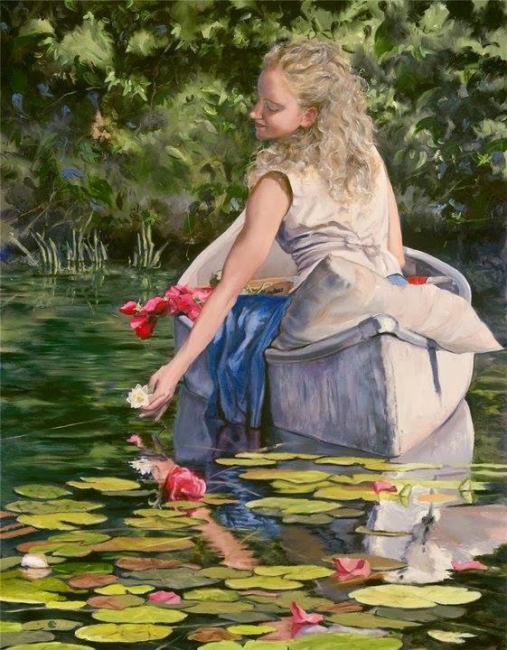 Mary G. Groos, pintura, Mónica López Bordón, poesía