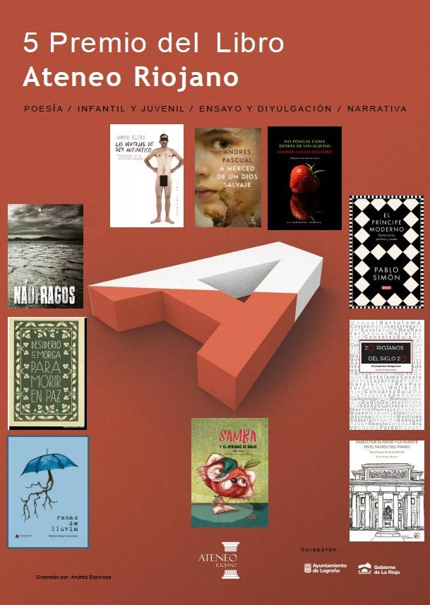 5º premio del Libro Ateneo Riojano