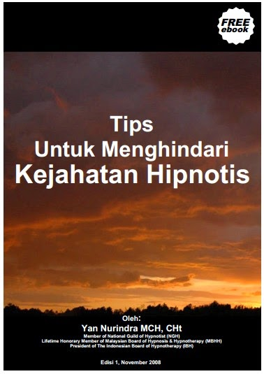 EBOOK TIPS MENGHINDARI KEJAHATAN HIPNOTIS