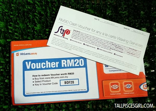 MrLens and Strip vouchers
