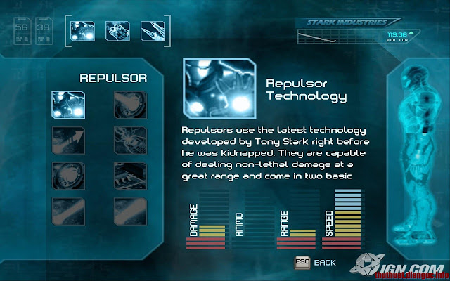 Download Game Iron Man - Người Sắt Full crack,